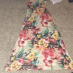 Windsor maxi floral skirt